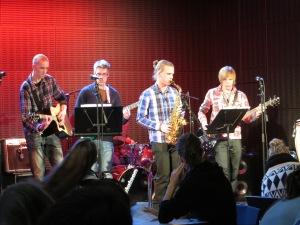 Jammailua Musiikkitalossa