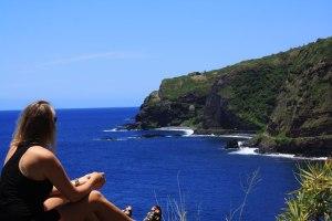 Anne Kantola muistelee Havaijin huikeita maisemia.