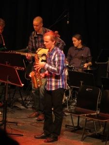 Hietala Group musiikkilukiopäivien jazz-konsertissa