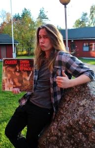 Kalle Mattila ja Queenin LP