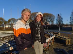 Valtteri Kiviniemi ja Pauliina Järvinen