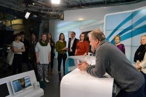 Matti Rönkä kertoo työstään YLE Uutisissa.