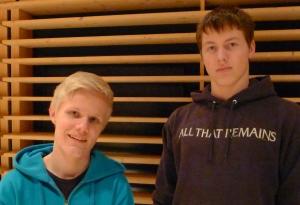 Valtteri Kiviniemen ja Mikko Marttilan mukaan Blondi edistyy kaiken aikaa.